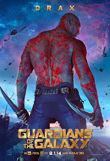 Drax poster for Guardians of the Galaxy