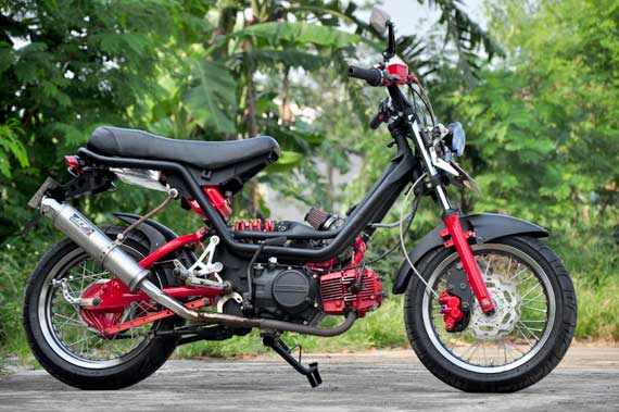Modifikasi Honda Astrea Grand. title=