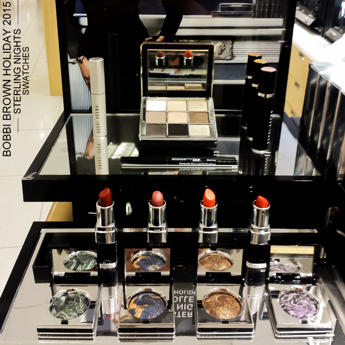 Bobbi Brown Sterling Nights Holiday 2015 Makeup Collection Photos Swatches