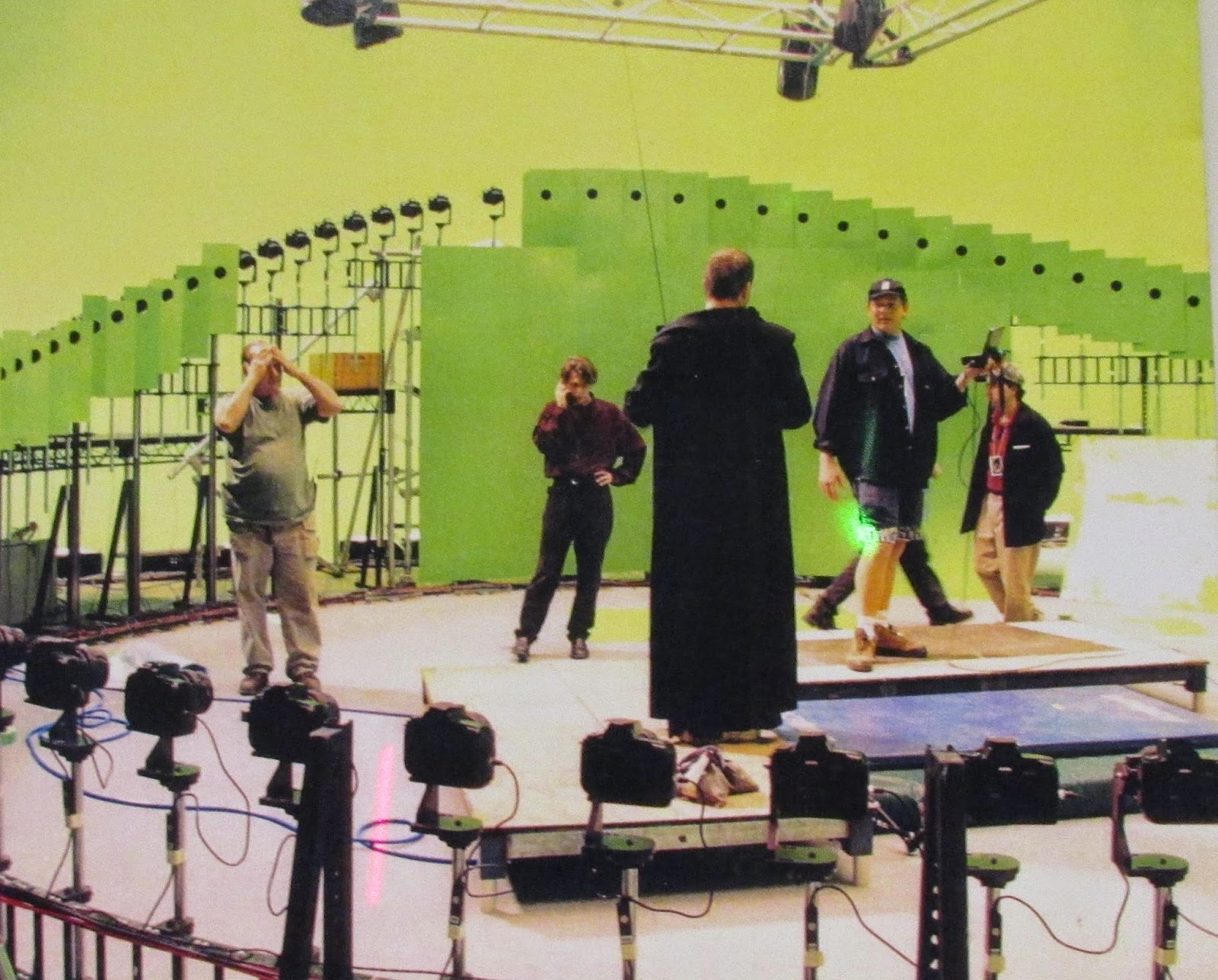 Matrix detrás de las cámaras
