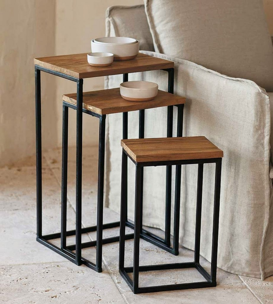 Elite decor 2014 stylish nesting tables designs ideas for Table design 2014