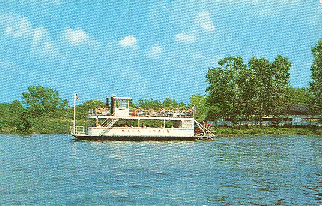 Vintage Travel Postcards Indian Lake Ohio