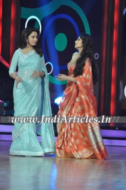 Rani Mukerji Promotes Aiyya On Jhalak Dikhhla Jaa 5