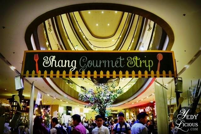 Shang Gourmet Strip at EDSA Shangri-La Plaza Mall East Atrium