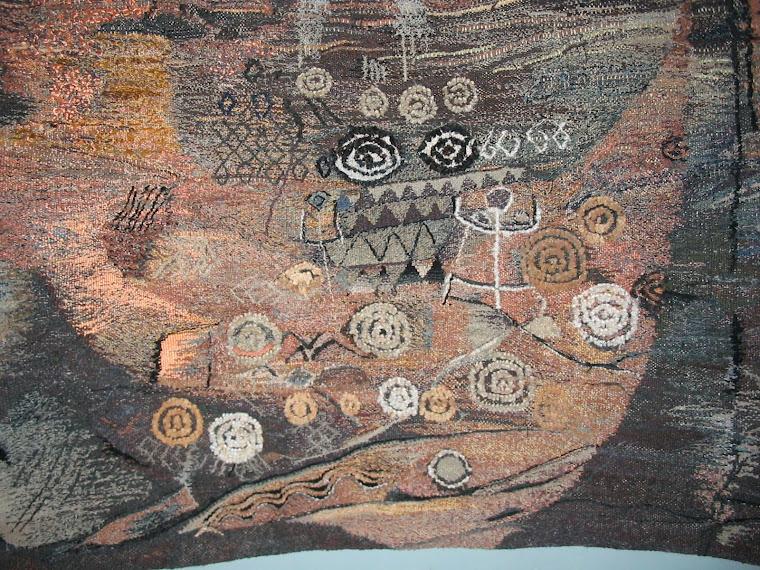 SCHUCMAN, Henrique. Detalhe de tapeçaria na técnica de Gobelin. Foto: Schucman.
