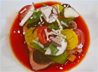 Philippe Mille plato presentado en Gastronomika 2012 Blog Esteban Capdevila