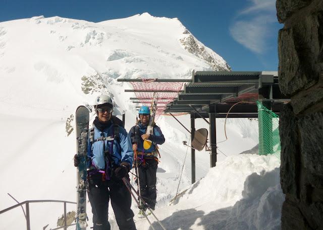 Travesia Chamonix-Zermatt:Prafleuri-Dix-Vigenettes