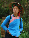 Giay ethnic groups in the mountains of Sapa Vietnam