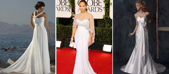 wedding gowns inspired by the celebrity