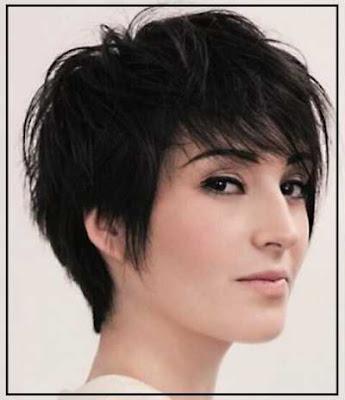 model potongan rambut chic long pixie untuk wanita 23115