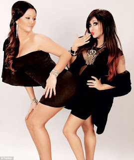 Snooki and JWoww toples