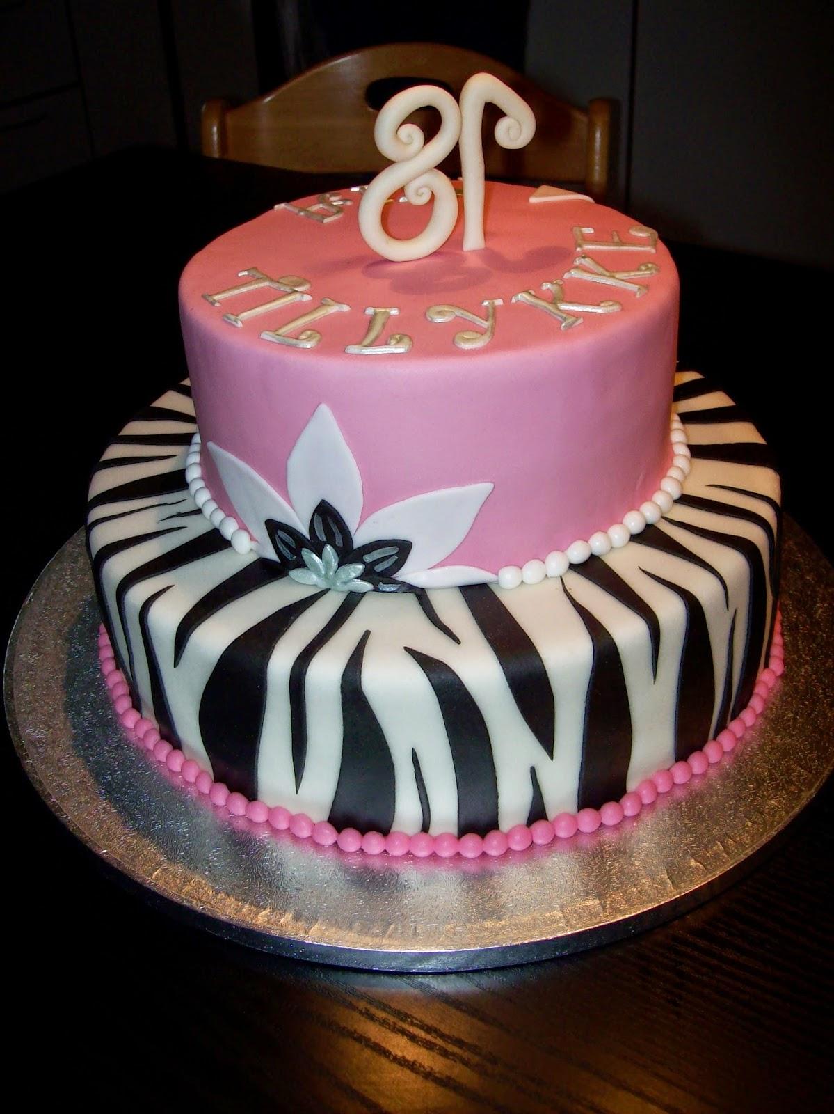 18 års kage