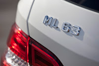 2011 Mercedes M-class ML63 AMG Official Press Image Photo Picture unveiled not mule badge emblem