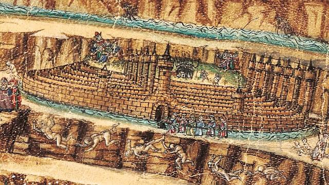 Mappa dell'Inferno - Sandro Botticelli.