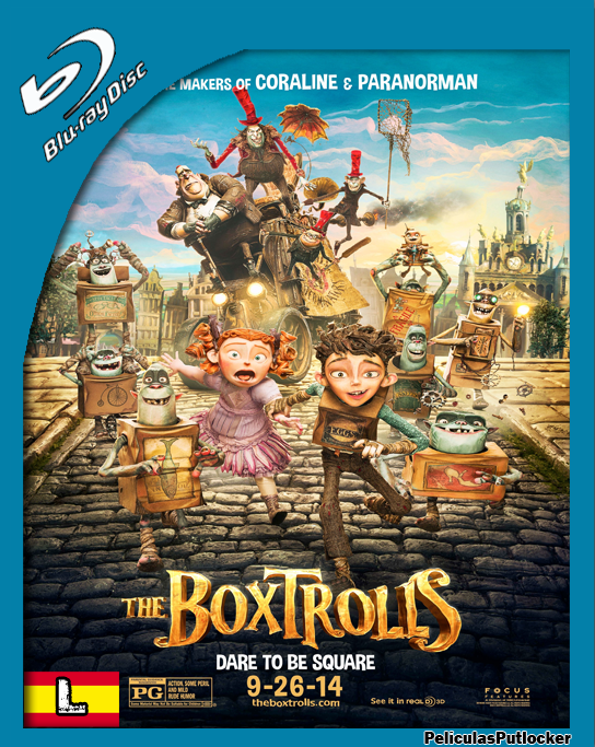 Los Boxtrolls [BrRip 720p][Latino][SD-MG-1F-RG]