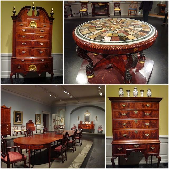 Antique furniture can be seen at National Gallery of Art in Washington DC, USA