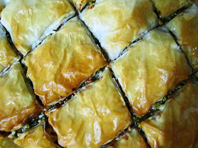 Baklava, home made, baking, Nigella Lawson, recipe, pastry, Christmas, potluck, middle-eastern, Turkish, sweet, Israel, syrup, pistachio, walnut, cashew, delicious, sticky, authentic