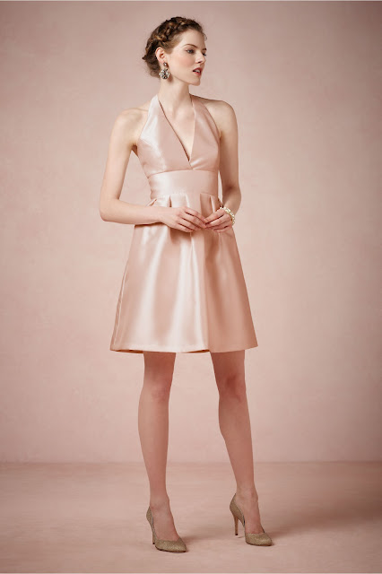 blush Bridesmaid Dresses by BHLDN