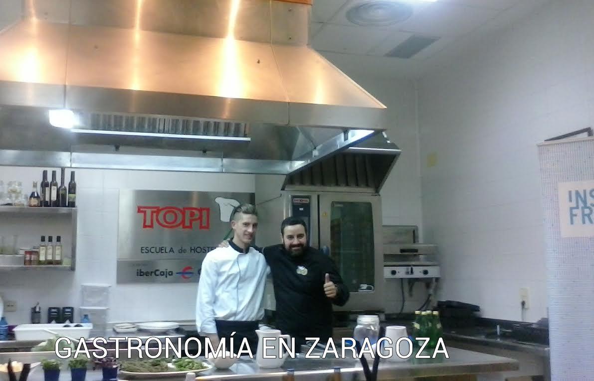 Gastronom a en zaragoza topi chef - Escuela de cocina zaragoza ...