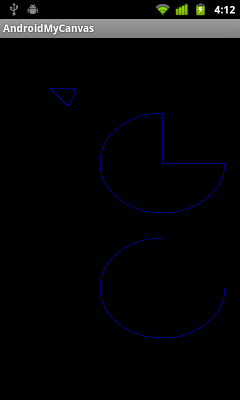 Draw arc on canvas, canvas.drawArc()