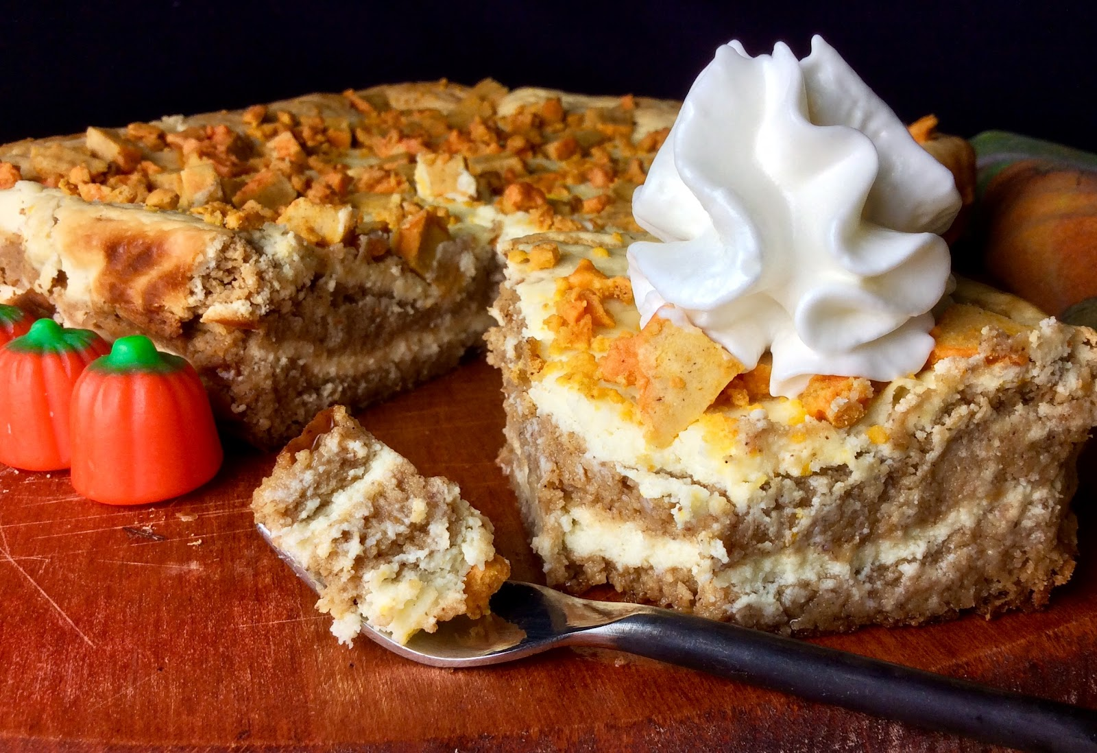 Food Fitness by Paige: Double Decker Pumpkin Cake with Cream Cheese ...