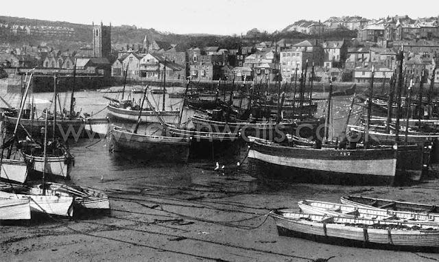 St Ives Harbour - Archive photo