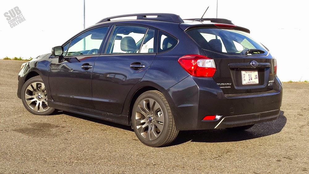 2015 Subaru Impreza Sport Limited Rear