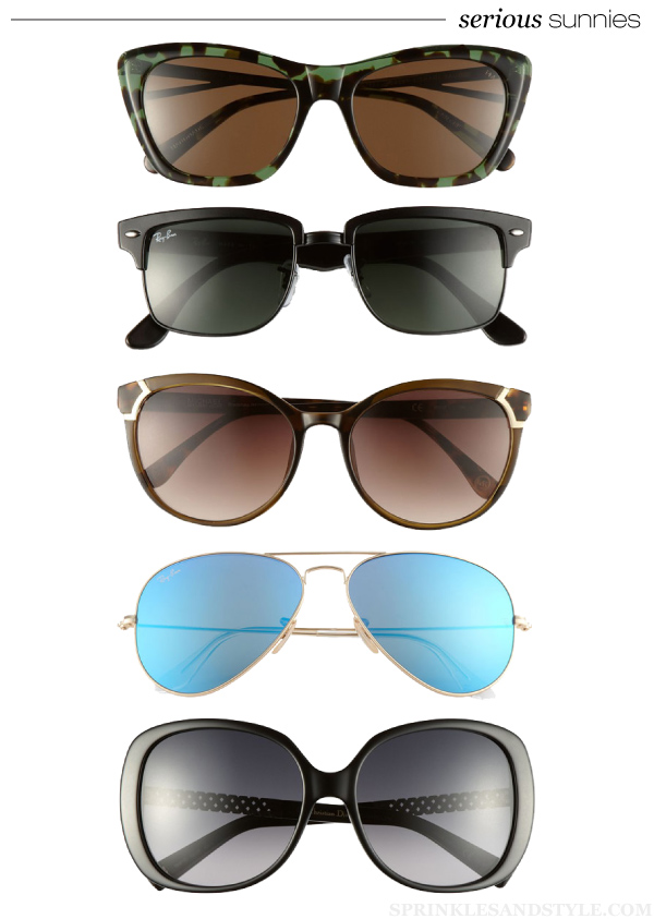 Sprinkles and Style || Friday's Fancies: Serious Sunnies