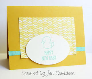 Makeover Monday BEFORE Card featuring One Tag Fits All #stampinup www.juliedavison.com