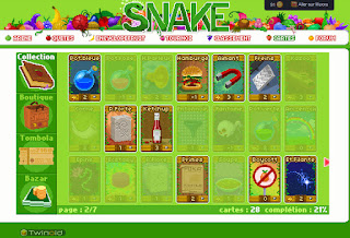 cartes snake - twinoid