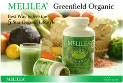 MELILEA Greefield Organic 458 gram