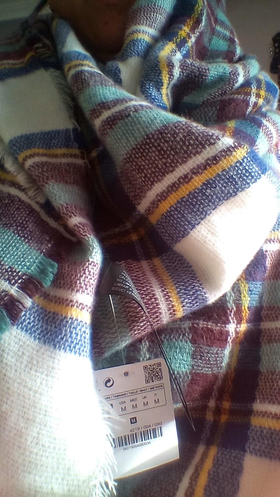 manta bufanda de zara invierno 2015