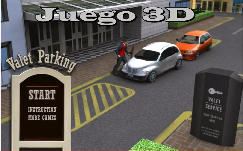 Videojuego Valet Parking en 3D