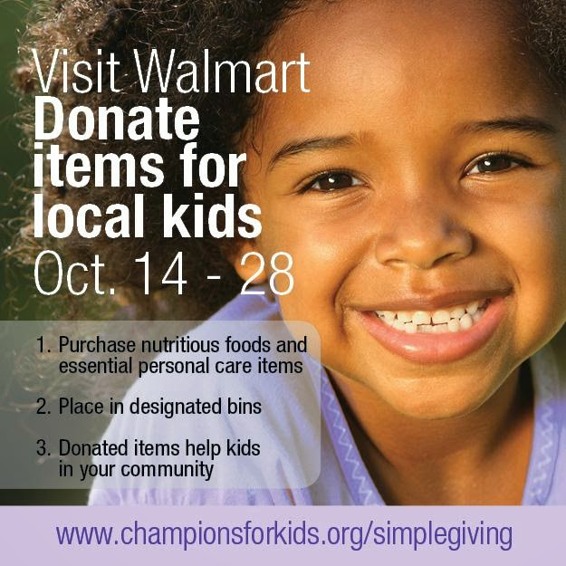 Give back this fall with Champions For Kids #SIMPLEGiving