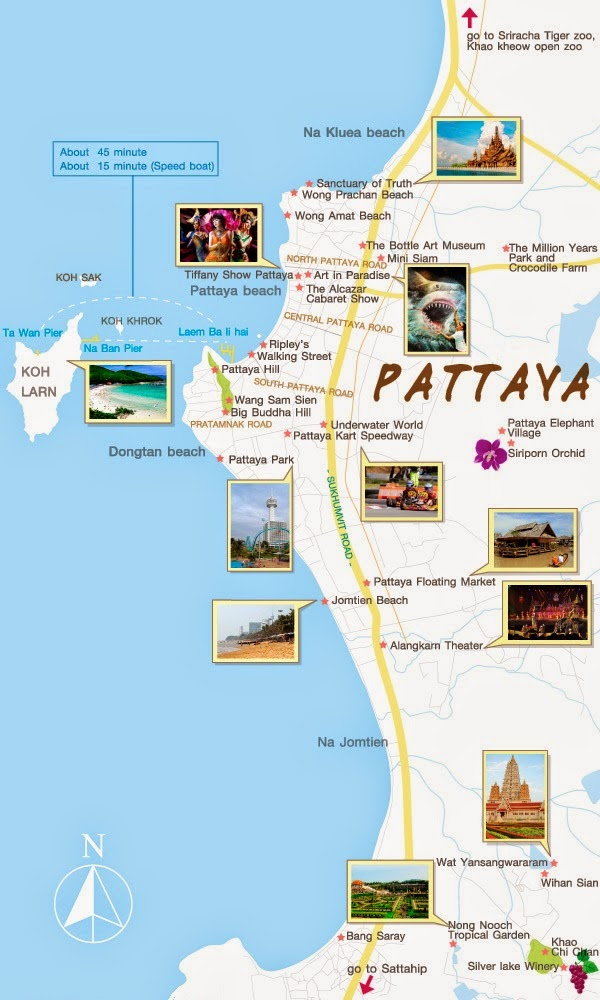 Tourist Attractions In Bangkok And Pattaya Pattaya vacations