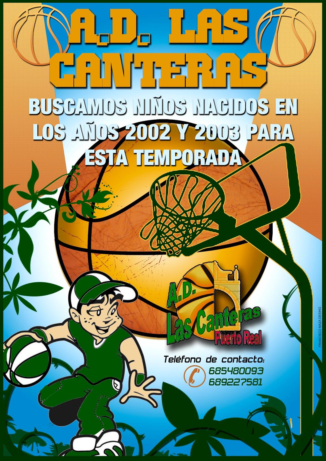 A d las canteras ven y disfruta del baloncesto con nosotros - Las canteras puerto real ...