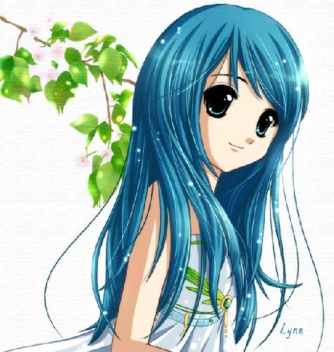 anime girls hair pics