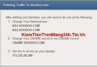 Domain Parking Tại Voodoo