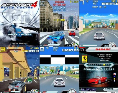 Jogo: Asphalt 4: Elite Racing