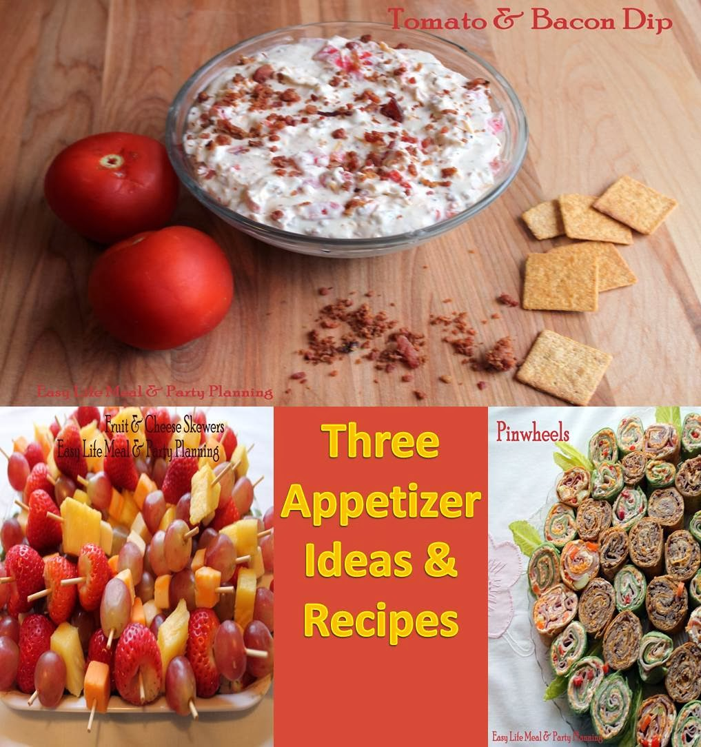 easy appetizers baby shower 3 appetizer ideas recipes