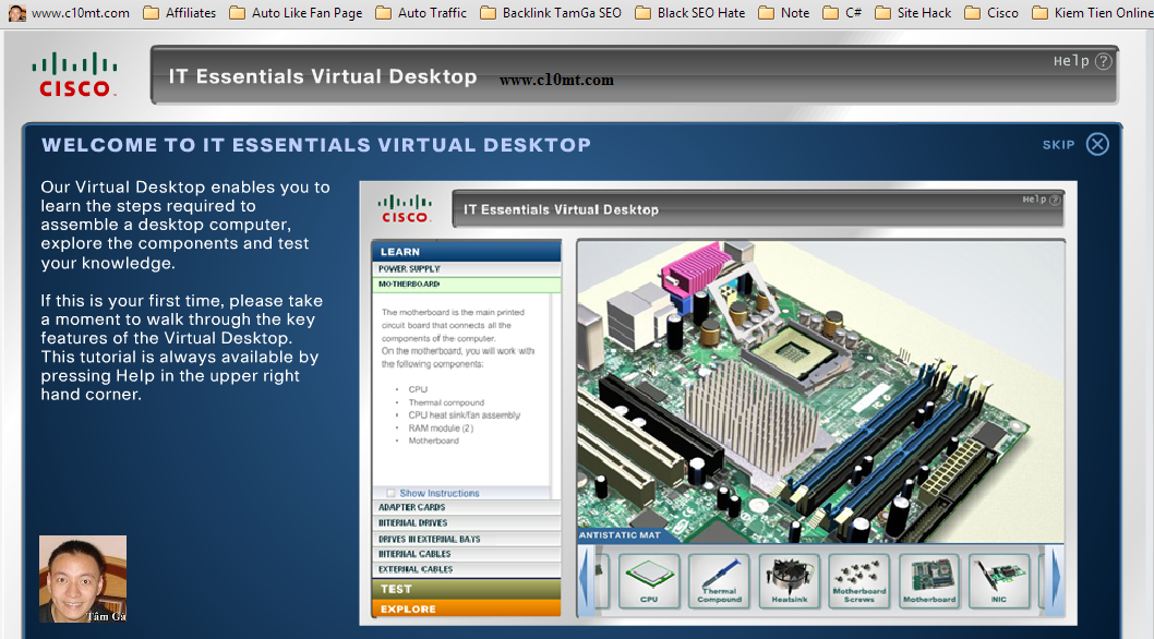 Cisco IT Essentials Virtual Desktop