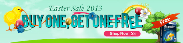 Easter 2013 Sales - Get Free Leawo iTransfer