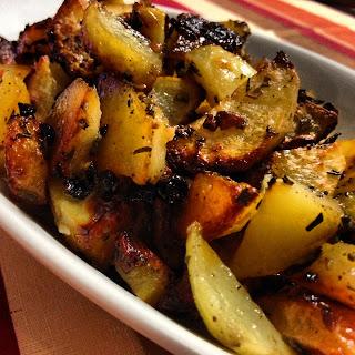 patate al forno....hai mai visto un sapore?