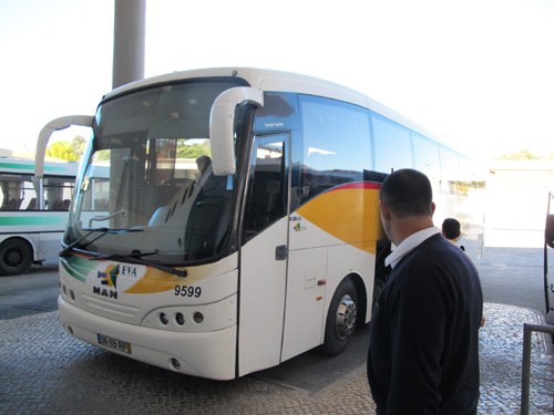 Getting From Faro to Sevilla By Bus.
