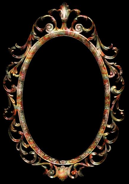 Zoom dise o y fotografia espejo vintage clipart png - Espejos antiguos de pared ...