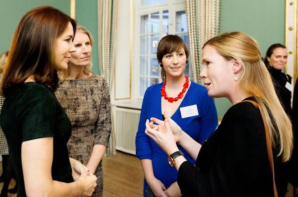 Princess Mary Hosted The Mary Foundation's Christmas Reception