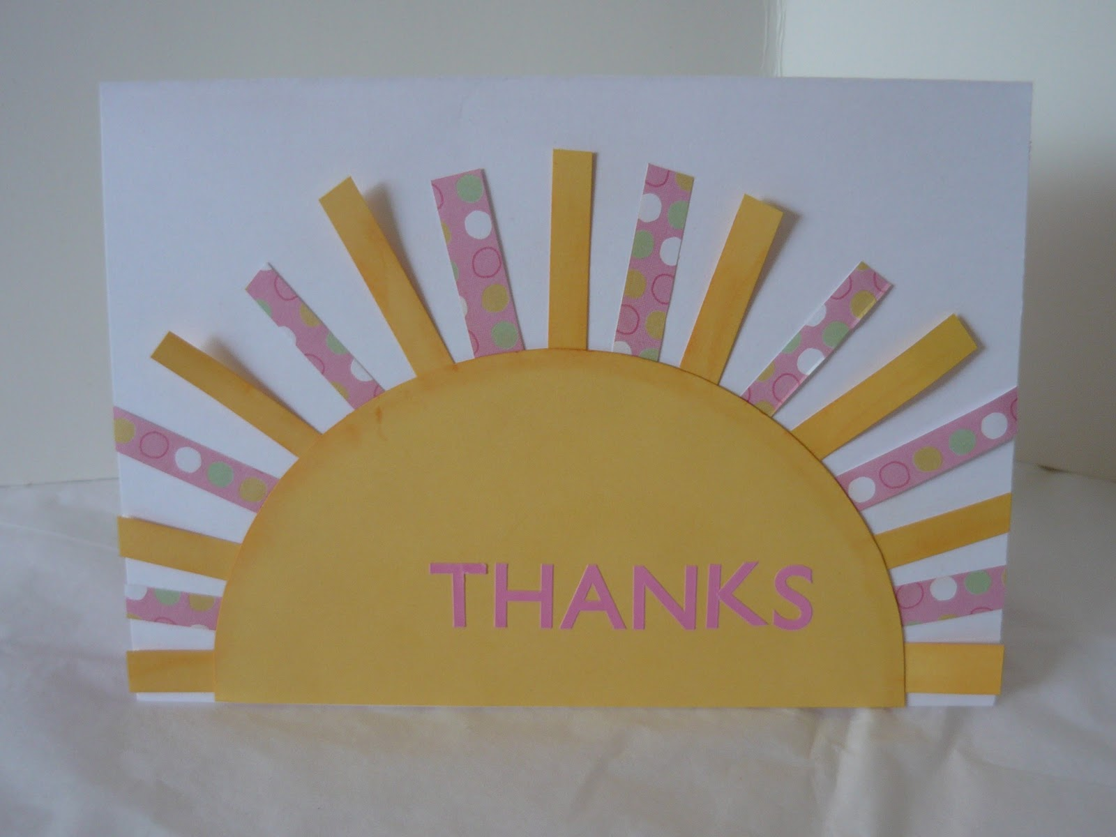 Small Fry Co Thank You Card Week Sunny Thanks