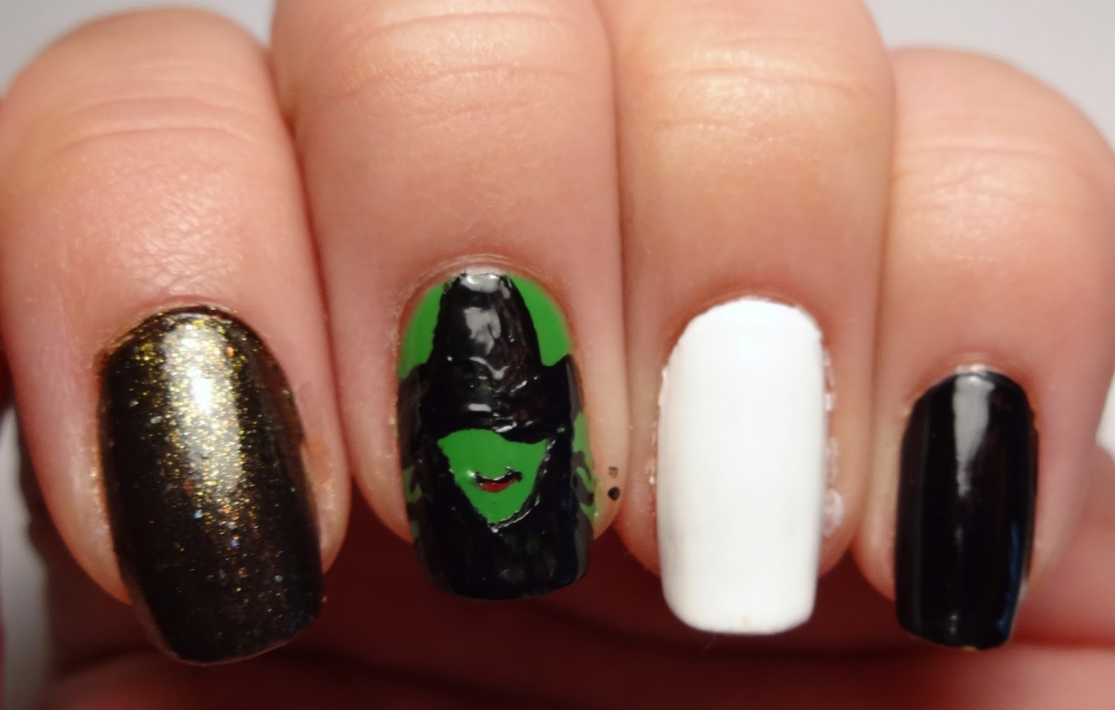 Lacquered Lawyer Nail Art Blog Wicked Witch