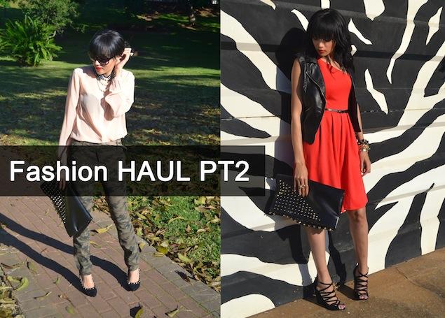 HAUL Part 2: The clothes!!!