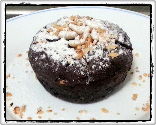 ricottine al cacao e nocciole